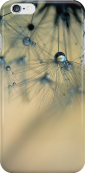 dandelion iphone case by Ingz