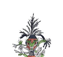 """""""An Aztec Goddess"""" by jaartist29"""