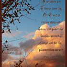 Revelation 4 Eleven by Glenn McCarthy
