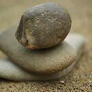 Stones Arranged in Pile by shane22