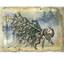 Stealing Christmas Photographic Print