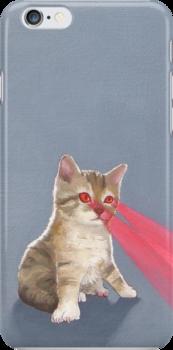 Laser Kitten by chelsgus