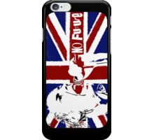 No Future - Sex Pistols - Johnny Rotten (Union Jack Design) iPhone Case/Skin