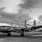 Vintage 1956 DC-7 by njordphoto