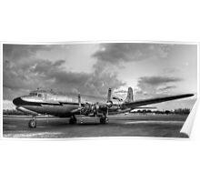Vintage 1956 DC-7 Poster