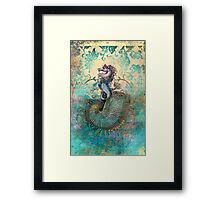 The Seahorse Diary Framed Print