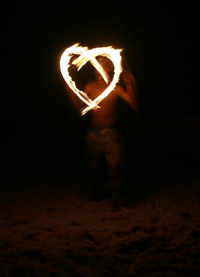 Fire Heart by Kat de la Perrelle
