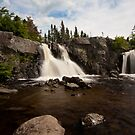 Cox's Cove Falls I by Stephen Rowsell
