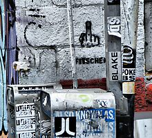 Broome Street Garbage by joan warburton