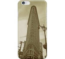 flatiron building, NYC iPhone Case/Skin