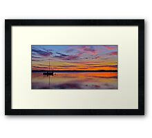 Peaceful Afternoon. Framed Print