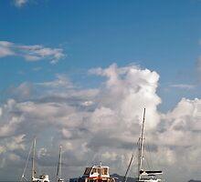 Pleasure Boats, St Vincent by Trevor King