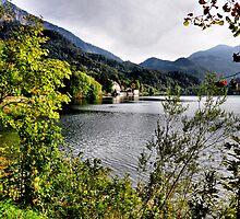 enjoying the lake by Daidalos