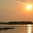 Lonavla Dam Sunset by redscorpion