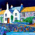 Castlegate - Crail by Bridget March