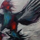 Phoenix - Rooster painting by Khairzul MG