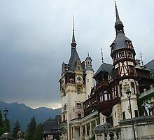 Peles Castle and Museum from Sinaia, Romania by queensoft
