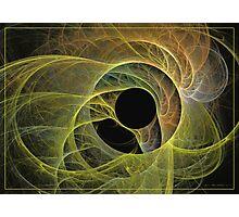 The birth of green-eye Photographic Print