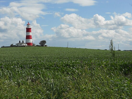 Happisburgh Lighthouse by Emily Clarke