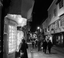 Night Shopping In York by Mat Robinson