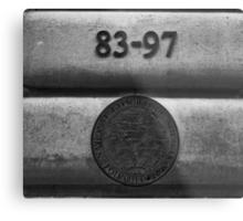 National Geographic Seal Metal Print