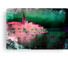 The Essence of Croatia - Euphrasius Basilica in Porec Canvas Print