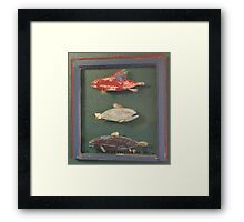 "Windows are Fish to the Sole 1 of 13.  32"" x 24"" (SOLD) Framed Print"