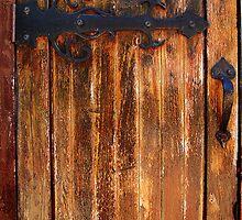 Church Door by Eve Parry
