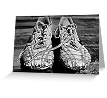 The Boy's Trainers Greeting Card