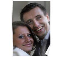 """A Paradise Dream Wedding. Kraków. Poland. by Brown Sugar. no.3.. Views (375) thx! Poster"