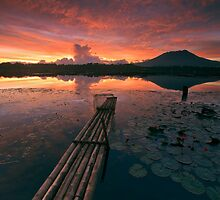 Burning Lake by Rodel Joselito B.  Manabat