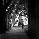 The Walk to School by Alfredo Estrella