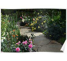 A Favorite Flower Garden Poster