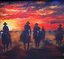 Night Riders by Kerry Wembridge Ziernicki