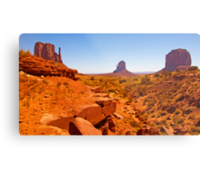 Paint The Valley Metal Print
