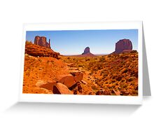 Paint The Valley Greeting Card