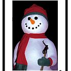 Snowman during the Holidays by Cathleen Knutson