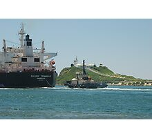 PACIFIC TRIANGLE CARGO SHIP - Newcastle NSW Australia Photographic Print