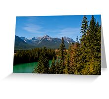 Bow Valley Parkway Greeting Card