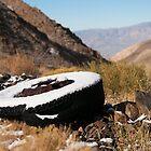 First snow- Death Valley by Josh220