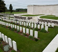 Tyne Cot Commonwealth War Graves Cemetery by Mark Prior