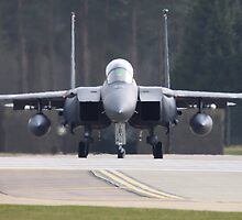 Eagle takes to the runway by Richard Durrant