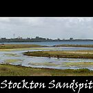 Stockton Sandspit by reflector