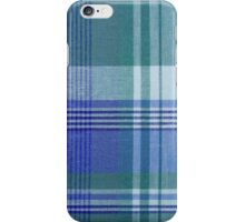 Blue Plaid iPhone Case iPhone Case/Skin