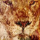 Grunge Lion by DionNelson