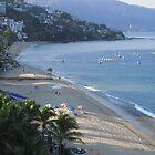 Boats in the morning sun at Banderas Bay of Puerto Vallarta by PtoVallartaMex