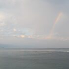 Rainbow above the Baha de Banderas/Puerto Vallarta by PtoVallartaMex
