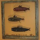 Windows are fish tothe sole 4 of 13 30&quot; x 32&quot; (SOLD) by Fred Weiler