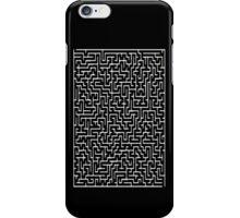 Maze Puzzle iPhone Case/Skin
