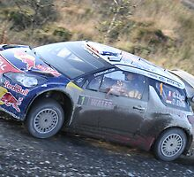 Sebastien Loeb/Daniel Elena - Citroen DS3 WRC - Wales Rally GB 2011 by MSport-Images